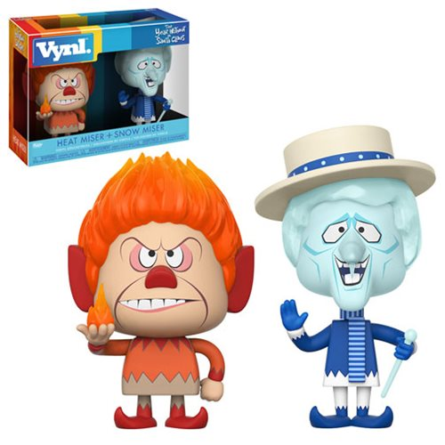 The Year Without Santa Claus Heat Miser and Snow Miser VYNL Figure 2-Pack