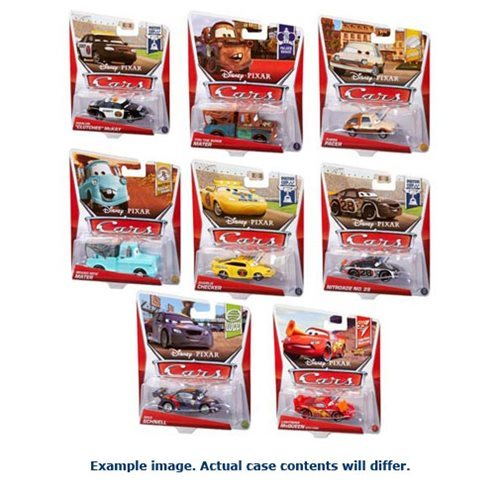 Cars Character Cars 1:55 Scale 2017 Mix 17 Case