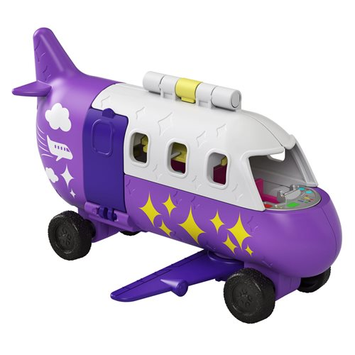 Polly Pocket Pollyville Airplane