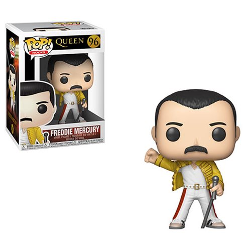 Queen Freddie Mercury Wembley 1986 Pop! Vinyl Figure #96