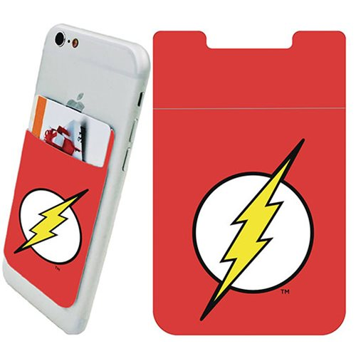 Flash Logo Phone Card Holder