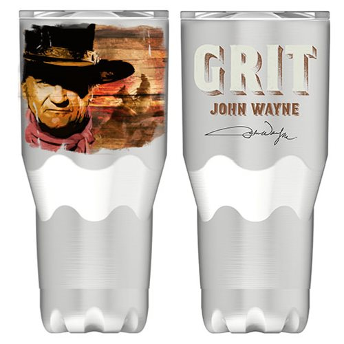 John Wayne 30 oz. Stainless Steel Travel Tumbler