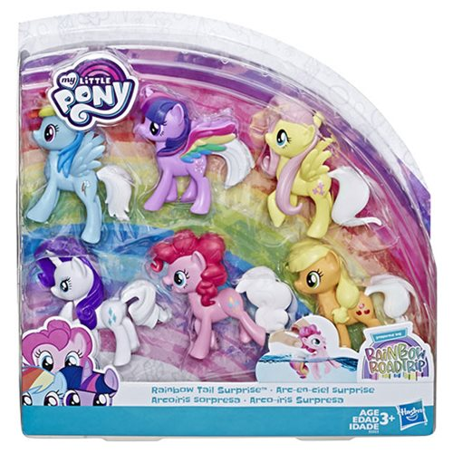 My Little Pony Toy Rainbow Tail Surprise Collection Pack
