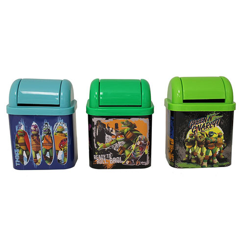 Teenage Mutant Ninja Turtles Flip Lid Desktop Tin Set