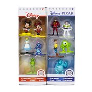 Disney Nano Metalfigs Die-Cast Mini-Figures 5-Pack Set