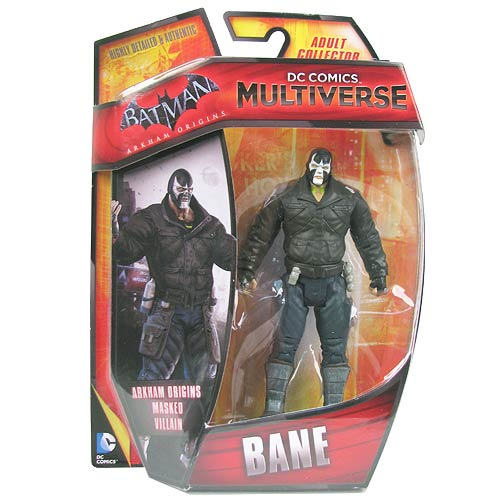 DC Comics Multiverse Bane Batman Arkham Origins 4-Inch Action Figure