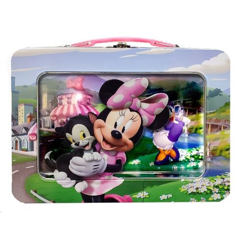 Minnie Mouse XL Tin Lunch Box with Window