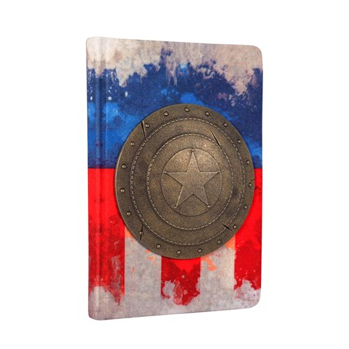 Captain America Shield Embellished Premium Journal