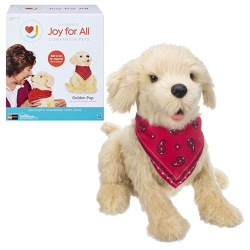 Joy For All Golden Pup Puppy Dog Plush