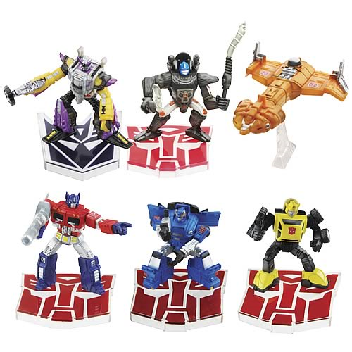 Titanium Series Transformers Robot Masters Wave 3 and 4 Set