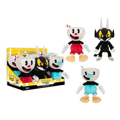 Cuphead Plush Display Case