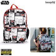 Star Wars: The Empire Strikes Back 40th Anniversary Retro Toy-Inspired Backpack - Entertainment Earth Exclusive