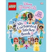 LEGO Disney Princess My Enchanted Sticker Paperback Book