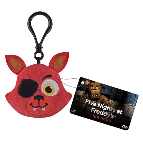 Five Nights at Freddy's Foxy Plush Key Chain