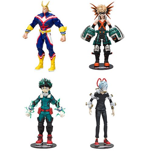 My Hero Academia Series 1 Action Figure Set