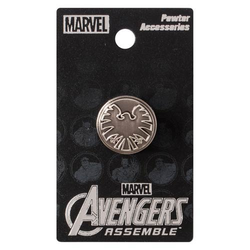 Avengers SHIELD Eagle Pewter Lapel Pin
