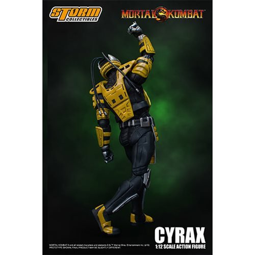 Mortal Kombat Cyrax 1:12 Scale Action Figure
