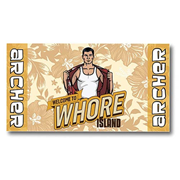 Archer Whore Island Cotton Towel