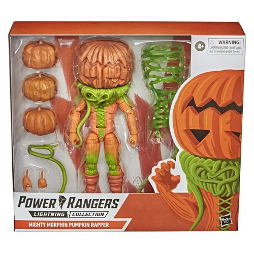 Power Rangers Lightning Collection Mighty Morphin Pumpkin Rapper 6-Inch Action Figure
