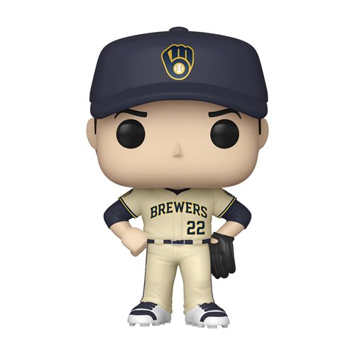 MLB Brewers Christian Yelich Pop! Vinyl Figure