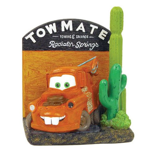 Disney Pixar Cars Mater Notepad Holder with Pen