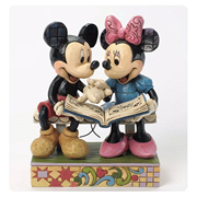 Disney Traditions Mickey and Minnie Sharing Memories Statue
