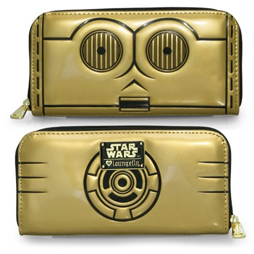 Star Wars C-3PO Zip Around Wallet