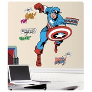 Captain America Classic Comic Giant Wall Decals