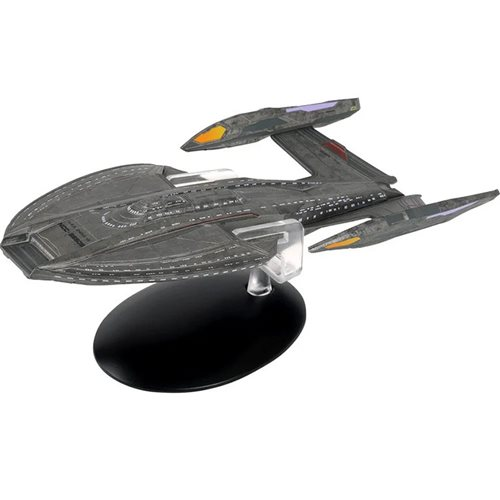 Star Trek: Picard Starships U.S.S. Zheng He Ship with Collector Magazine