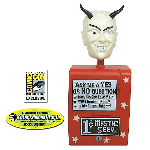 Twilight Zone Mystic Seer Bobble Head - Color SDCC Exclusive