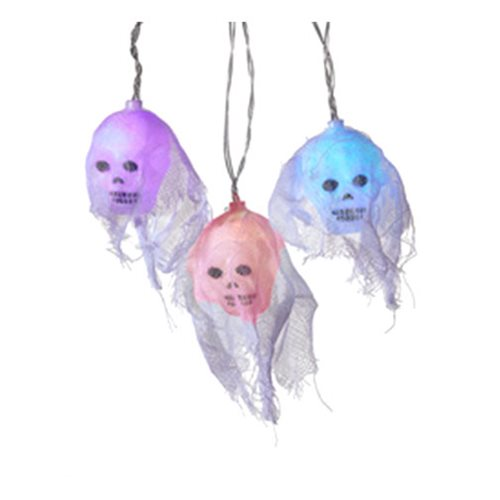 Halloween Skull Color Change Light Set