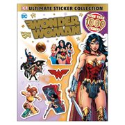 DC Comics Wonder Woman Ultimate Sticker Collection Paperback Book