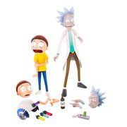 Rick and Morty Rick and Morty Action Figure Set