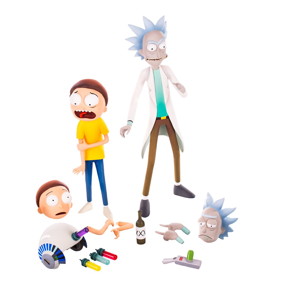 Funko Rick And Morty Summer With Weird Hat Action Figure NEW IN STOCK