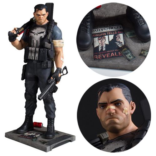 Punisher Collector's Gallery Statue