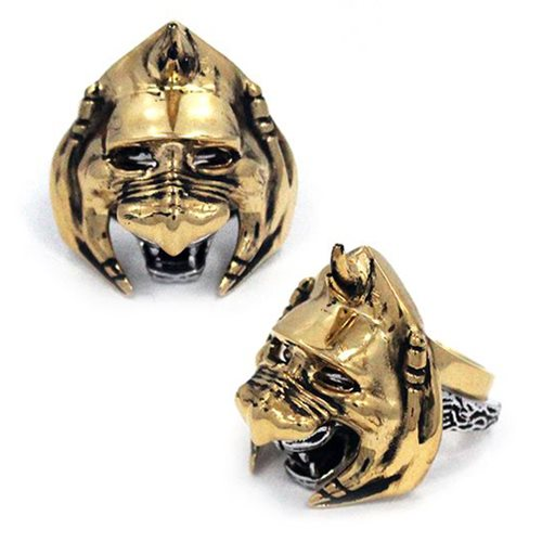 Masters of the Universe Battlecat 2-Piece Stainless Steel Ring