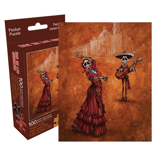 David Lozeau Celebration of the Mission 100-Piece Pocket Puzzle