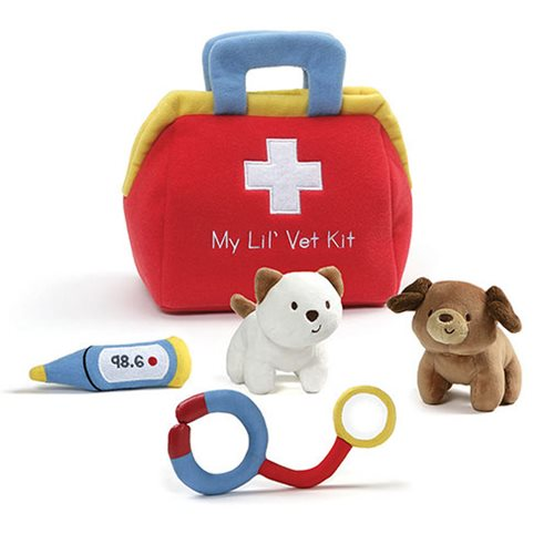 My Lil' Vet Kit Plush Playset