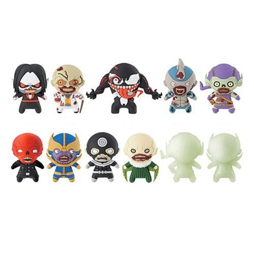 Marvel Zombies 3-D Figural Key Chain Random 6-Pack