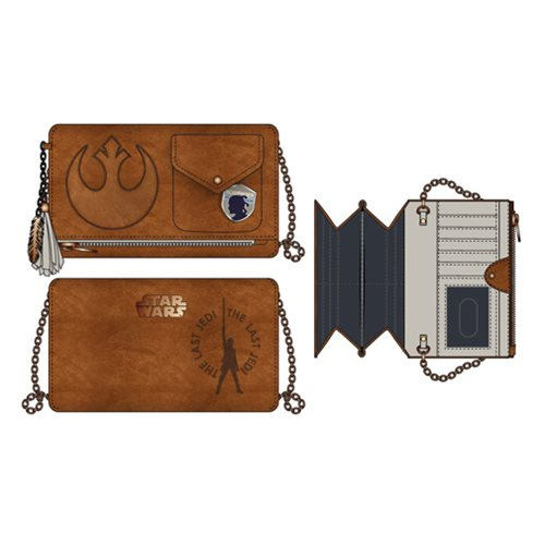Star Wars: The Last Jedi Rebel Crossbody Clutch Purse