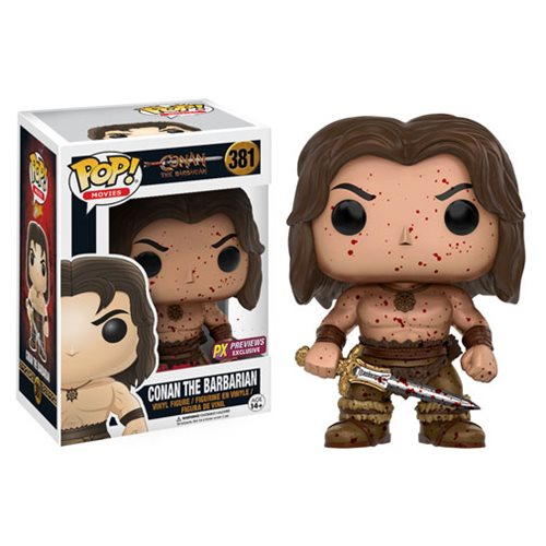 Conan The Barbarian Bloody Conan Pop! Vinyl Figure - Previews Exclusive