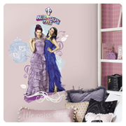 Descendants Mal and Evie Peel and Stick Wall Graphic