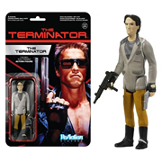 Terminator Terminator One Tech Noir ReAction 3 3/4-Inch Retro Action Figure, Not Mint