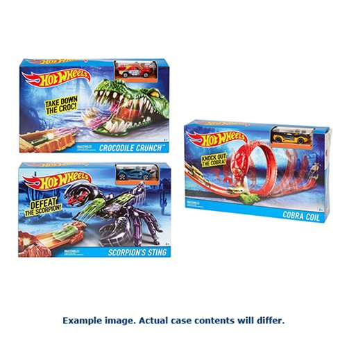 Hot Wheels Creature Track Playset Case