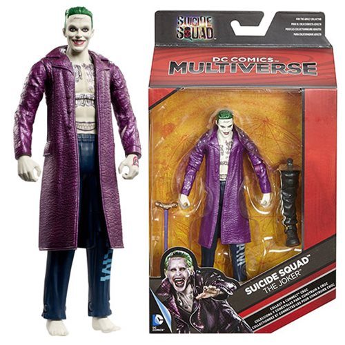 DC Multiverse Suicide Squad Joker 6-Inch Action Figure, Not Mint