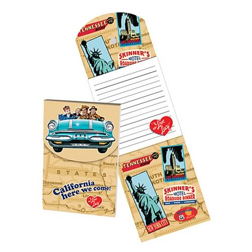 I Love Lucy California Here We Come Magnetic Notepad