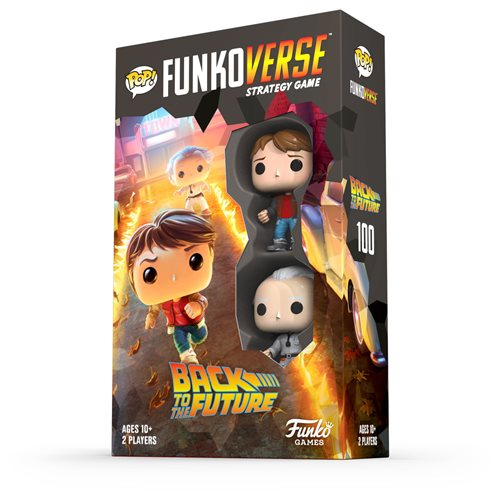 Back to the Future 100 Pop! Funkoverse Strategy Game Expandalone