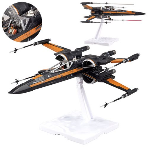 Star Wars: The Force Awakens Poe's X-Wing Fighter 1:72 Scale Model Kit