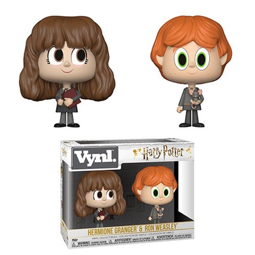Harry Potter Ron and Hermione Vynl. Figure 2-Pack