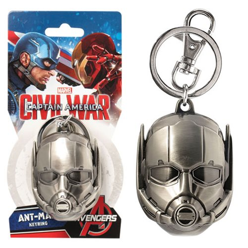Ant-Man Head Pewter Key Chain